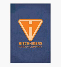 Hitchhikers Improv (Creamsicle) Photographic Print