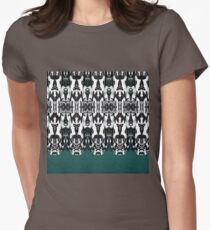 Tribal Feathers Women's Fitted T-Shirt