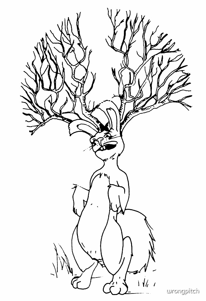 jackalope  by wrongpitch