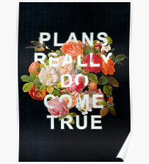 Plans Really Do Come True Poster