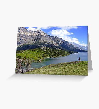 Bosporus and Upper Waterton Lake Greeting Card
