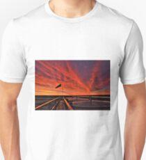 """Sunrise over the """" Bakken """"  T-Shirt"""
