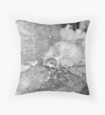 Icy Throw Pillow
