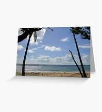 Bingil Bay Silhouettes Greeting Card