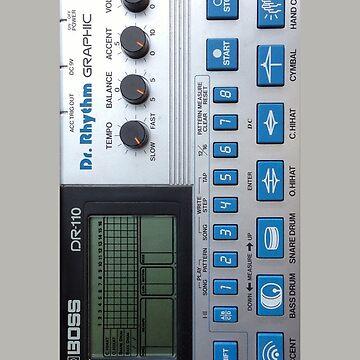 Boss DR-110 tambor de la máquina de astropop