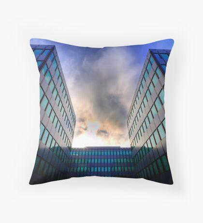 Sigma Sunset Throw Pillow