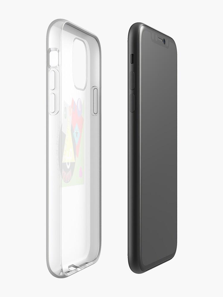 """Coque iPhone «""""COULEUR DE LA CONNAISSANCE""""», par Swaggucci"""