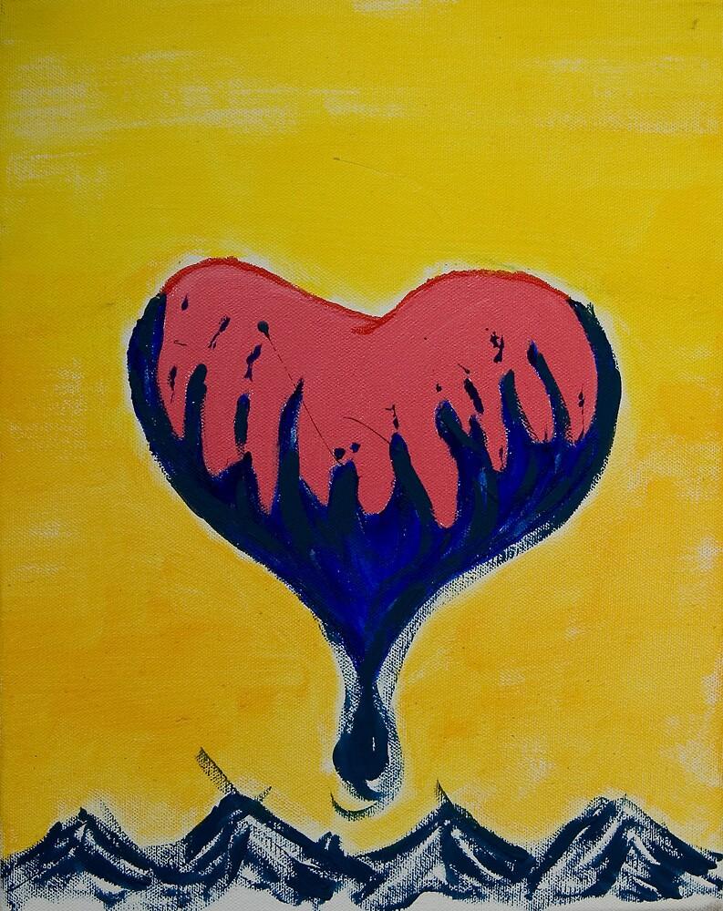 Heart Above the Clouds by Greg Kaczynski