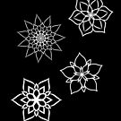 « Black flowers » par MimiGameDraw