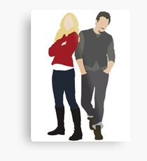 Swanfire - Once Upon a Time Metal Print