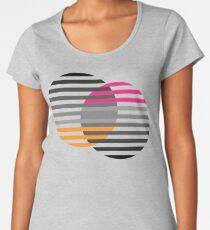 Striped baubles Premium Scoop T-Shirt
