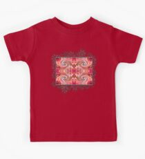 Valley Porcupine Abstract Kids Tee