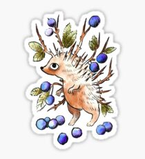 Berry Hedgehog Sticker