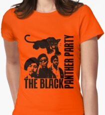 BLACK PANTHER PARTY Women's Fitted T-Shirt