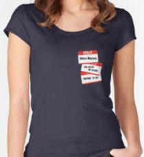 Indigo Montoya Women's Fitted Scoop T-Shirt