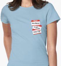 Indigo Montoya Womens Fitted T-Shirt