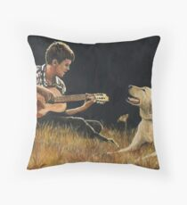 Sing Along Throw Pillow