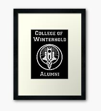 College of Winterhold Alumni Framed Print