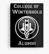 College of Winterhold Alumni Metal Print