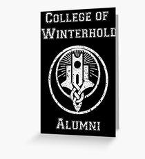 College of Winterhold Alumni Greeting Card