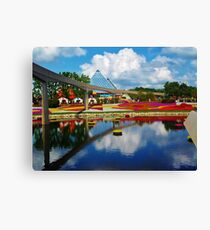 Epcot wonderland Canvas Print