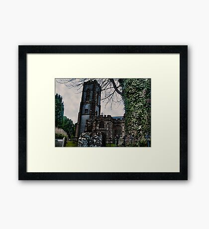 St Andrews Church, Curry Rivel, Somerset Framed Print