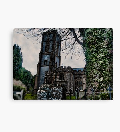 St Andrews Church, Curry Rivel, Somerset Canvas Print