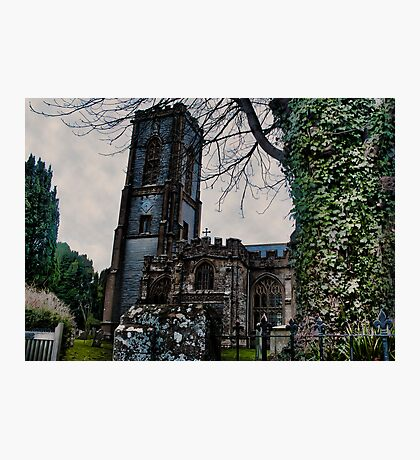 St Andrews Church, Curry Rivel, Somerset Photographic Print