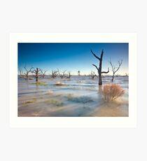 Lake Menindee 001 Art Print