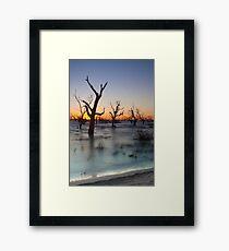 Lake Menindee 002 Framed Print