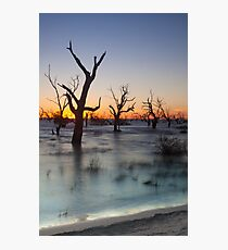 Lake Menindee 002 Photographic Print