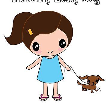 Meet My Lefty Dog by happiimii