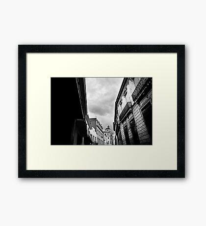 La Habana Vieja Framed Print