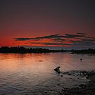 Manistique Sunset by Megan Noble