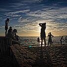 AT THE BEACH by Joseph Darmenia