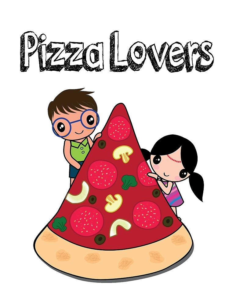 Pizza Lovers by happiimii