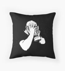 It's All Too Much (Sometimes) Throw Pillow