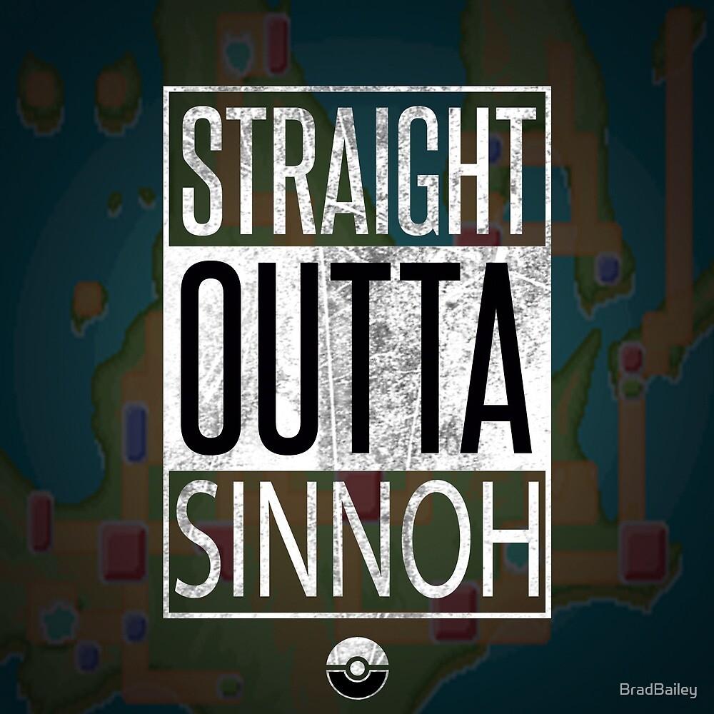 Pokemon - Sinnoh Region by BradBailey