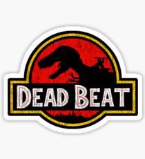 Jurassic Dresden Sticker Sticker