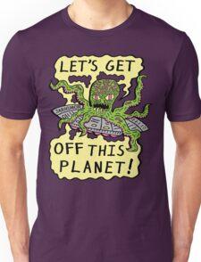 Alien UFO Escape Unisex T-Shirt