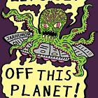 «Alien UFO Escape» de jarhumor