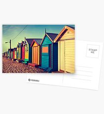 Bathing Boxes Postcards