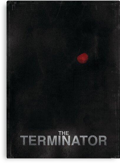 """The Terminator"" - minimalist movie poster design by J PH"