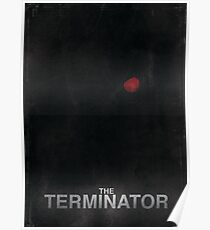 """The Terminator"" - minimalist movie poster design Poster"
