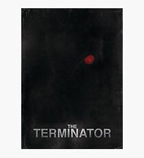 """The Terminator"" - minimalist movie poster design Photographic Print"