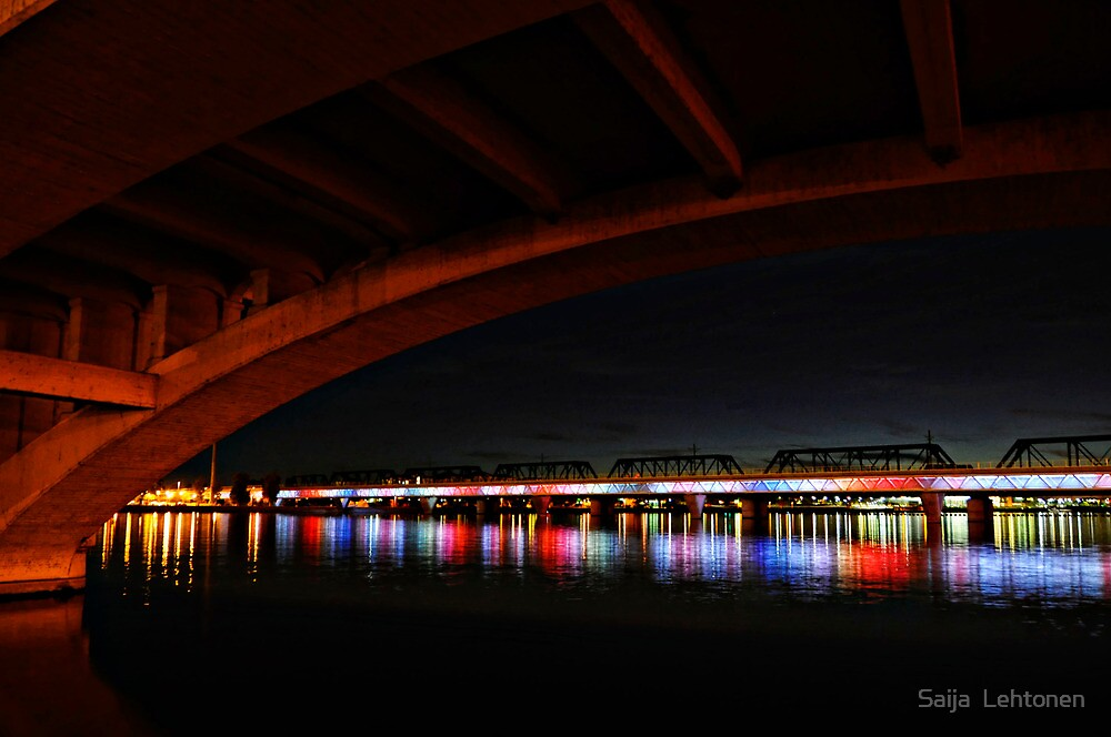 Beneath the Bridge  by Saija  Lehtonen