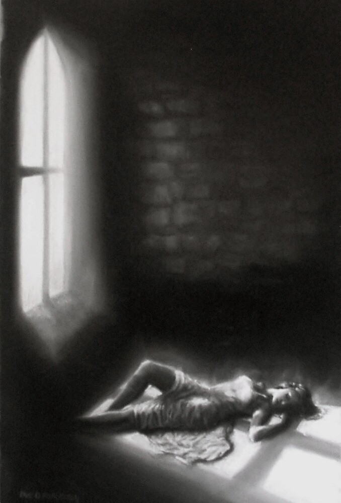 Shadows of a Crucifix by Paul Douglas Robertson