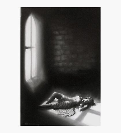 Shadows of a Crucifix Photographic Print