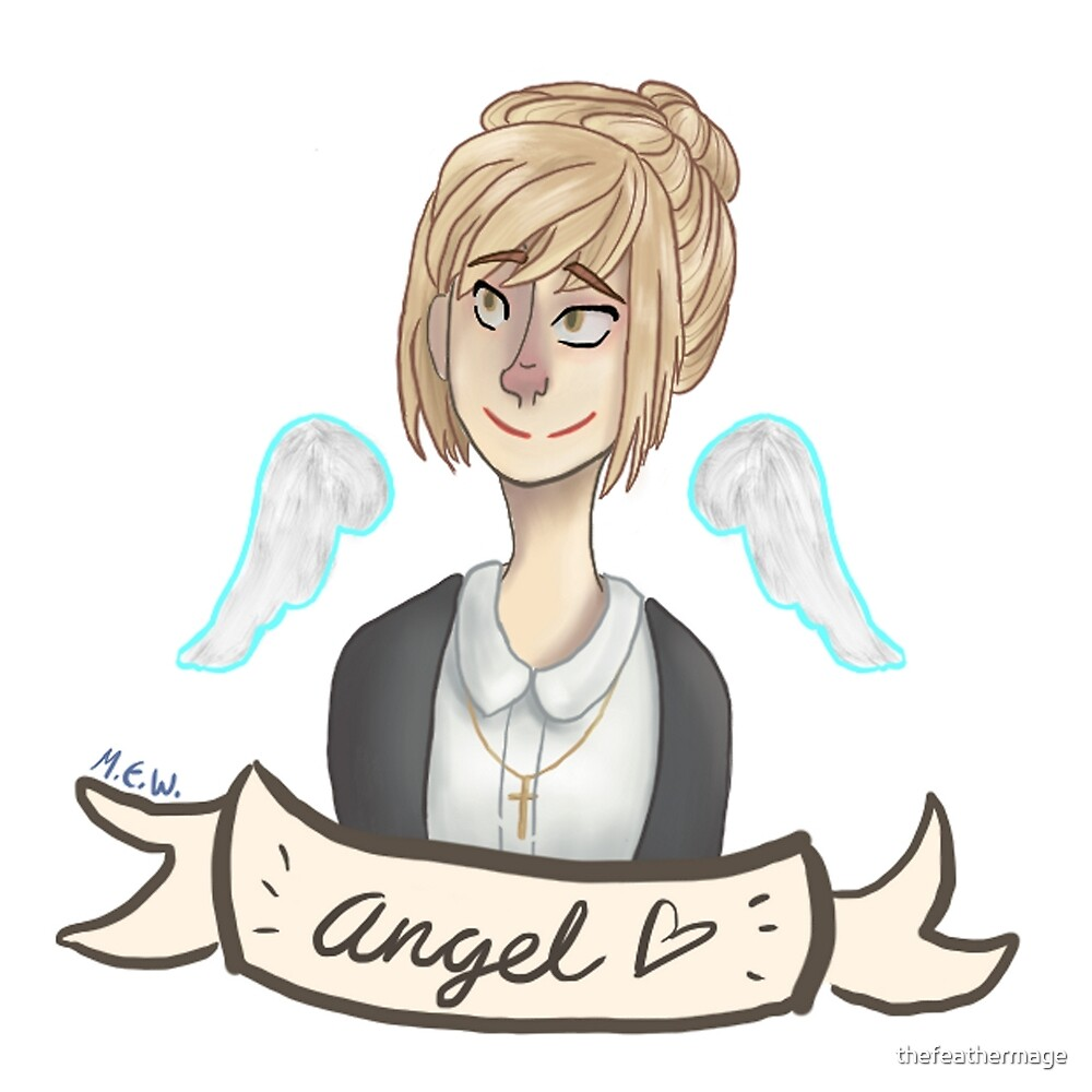 Actual Angel Kate Marsh by thefeathermage