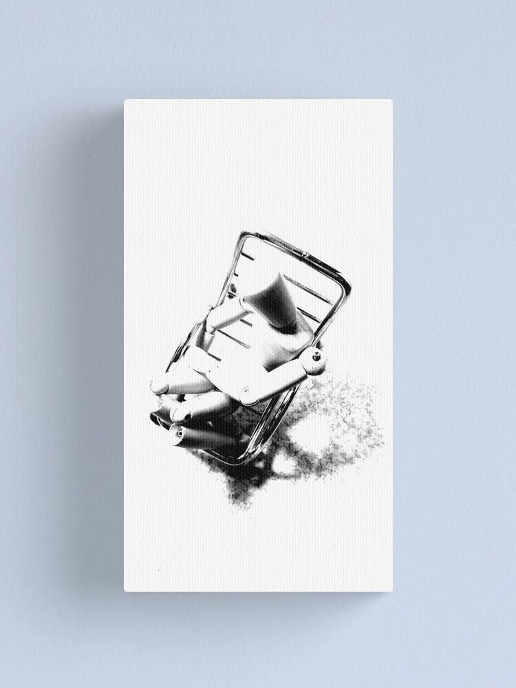 """Alternate view of """"Despair Chair (8)"""" Canvas Print"""